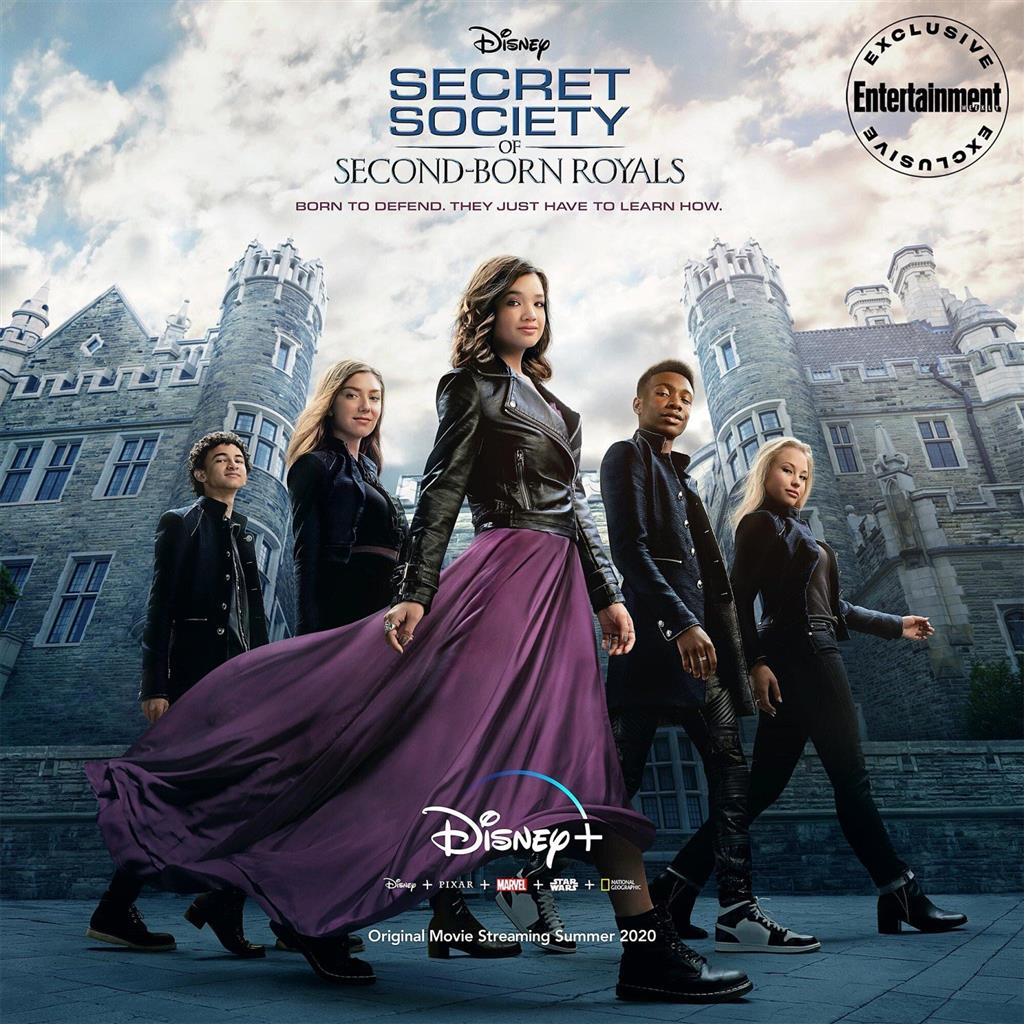 Новый сериал от Disney+ — «SECRET SOCIETY OF SECOND BORN ROYALS»